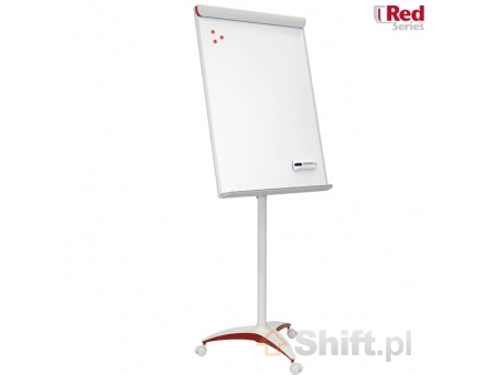 2x3 Flipchart Mobilechart Red